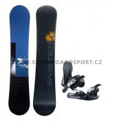 Snowboard set pánský System Sanction
