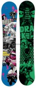 Snowboard Drake DF2 Triple Rocker 157 cm Wide