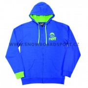 Mikina Neff zip hood Icon Blue aeca364573