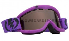 Brýle na snowboard Electric EGK Royal Purple Bronze Blue Chrome