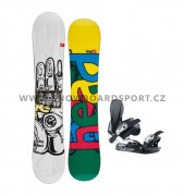 Snowboard set Head The Good Flamba 11/12