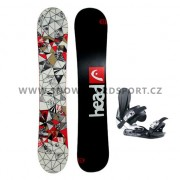 Snowboard set Head Tribute R Rocka 11/12