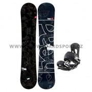 Snowboard set dámský Head FOUNTAIN I ROCKA 11/12