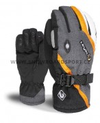 Rukavice na snowboard Level Explorer Black Grey 12/13