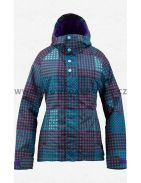 Bunda na snowboard dámská Burton Method Jacket Heathers Cheeky Plaid 12/13